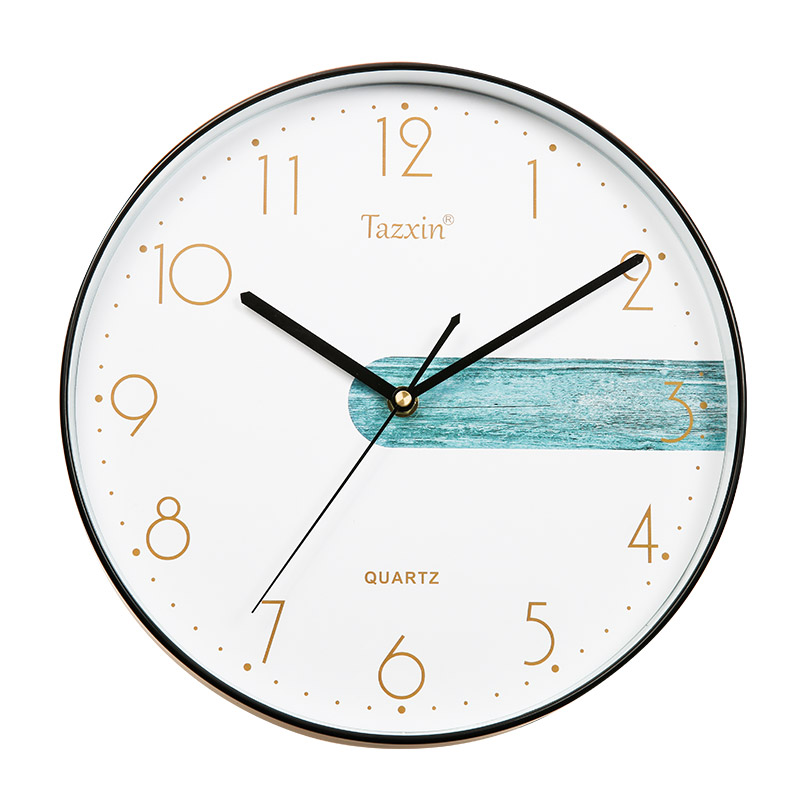 30cm Ready to Ship Simple Round Shape Painting Cheap Gift Wall Clock