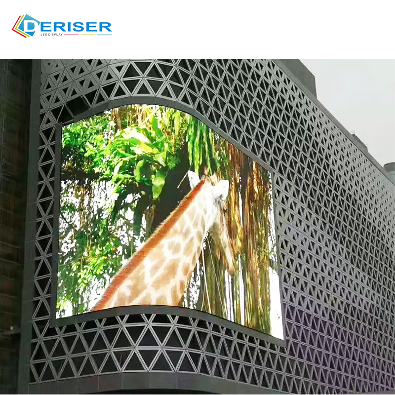 Digital Signage Displays große led-bildschirm Elektronische Zeichen Outdoor 10mm Pixel P10 Programmierbare led display board