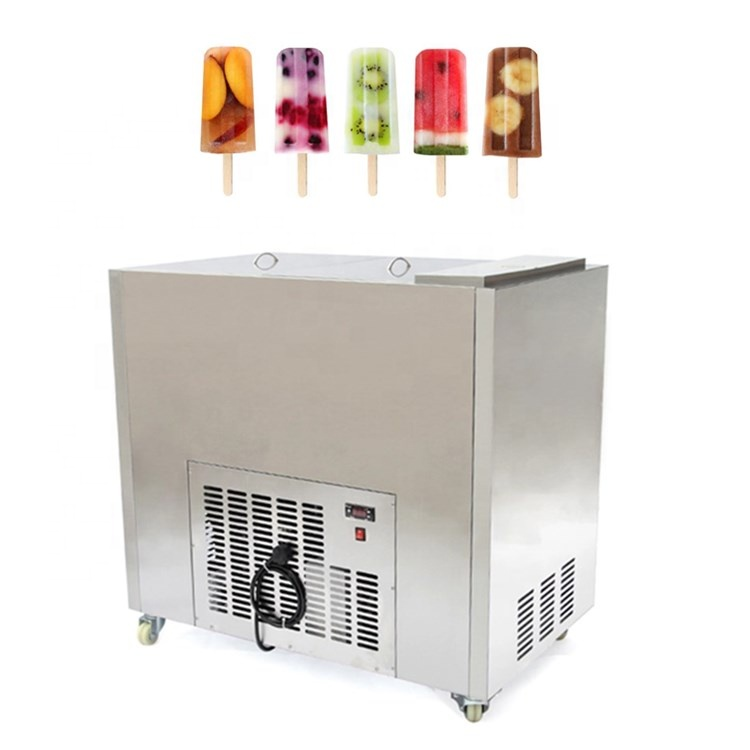 Commercial Ice Lolly Popsicle Making Machine /Stick Pop Maker Price/ Stick Ice Cream Machine
