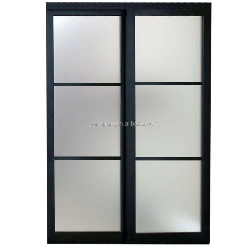 anodized windows doors aluminum doors window stempered glass for sale