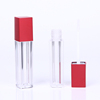See-through liquid lipstick container packaging