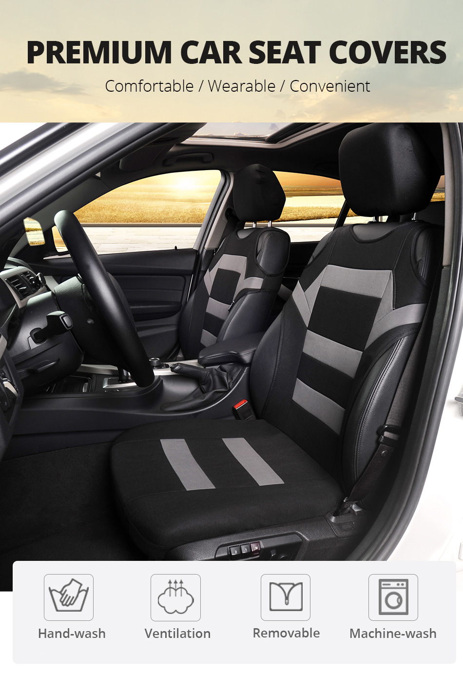 2002 2003 Ford Escort Coupe Black Loop Driver /& Passenger Floor GGBAILEY D3121A-F1A-BK-LP Custom Fit Car Mats for 2001