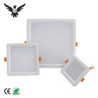 China manufacturer standard square dimmable waterproof recessed led down light