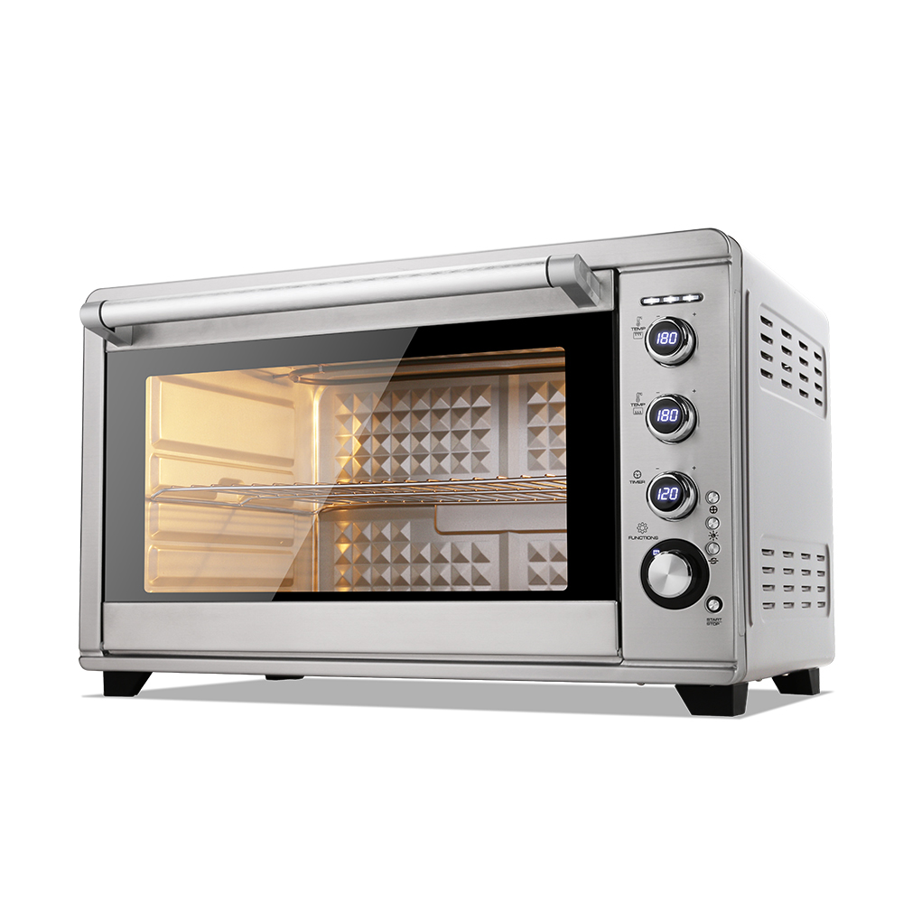 60L commercial kitchen grill electric oven with temperature control