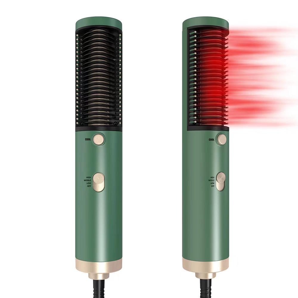 Hair Straightener Manufacturer Supply Best Selling Make Your Hair Attractive Electric Hair Straightening Brush