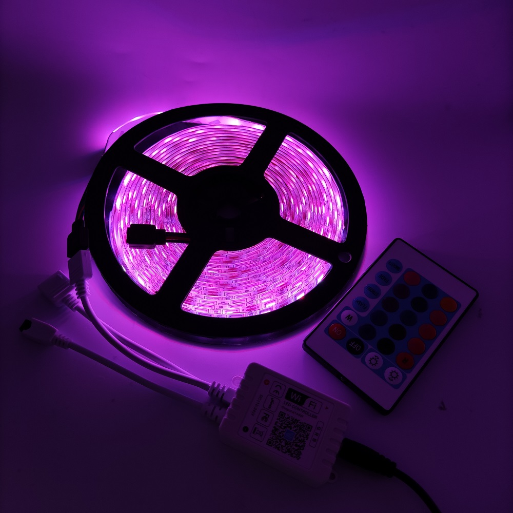 Wholesale bar multi color 5050 ip65 digital music led strip lights in india
