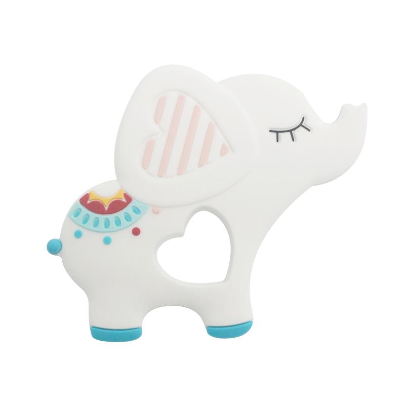 elephant baby teether 03