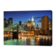 Wholesale Cheap Cityscape Images Fabric Custom Made Photo Canvas Print 12*36