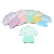 Wholesale Food Grade BPA Free Soft Plant Silicone Mushroom Teethers For Baby Teething Chewable Toy