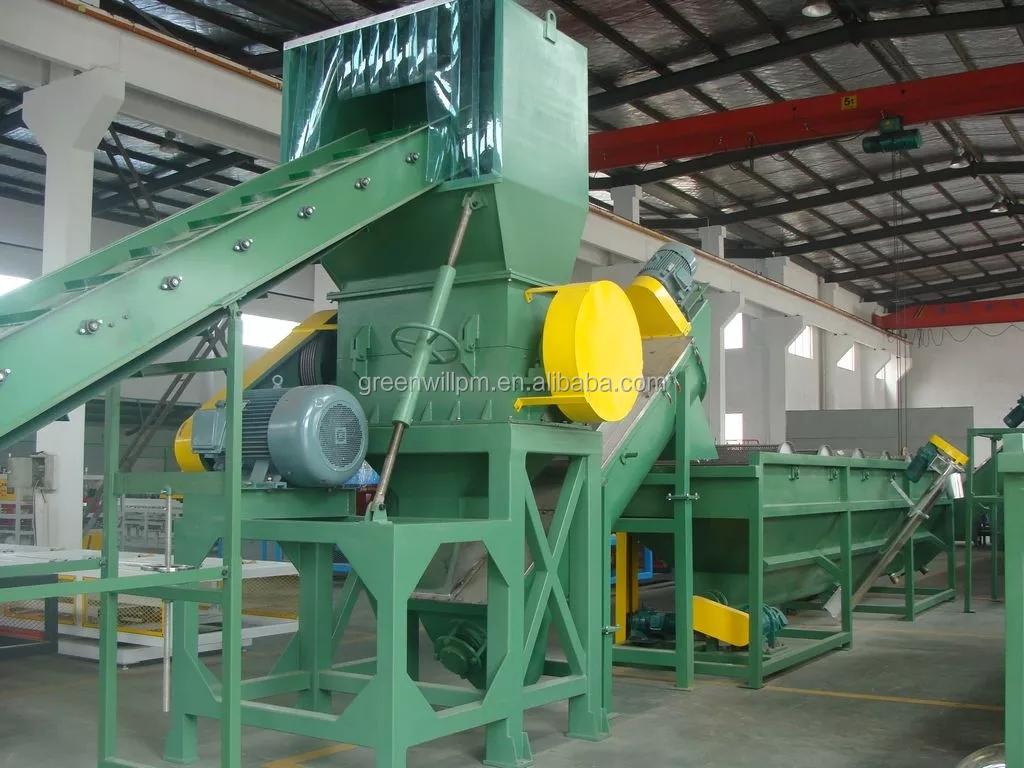 500kgh de alimentación cuantitativa residuos granulador de plástico línea/PP/PE ABS pellets máquina de fabricación de
