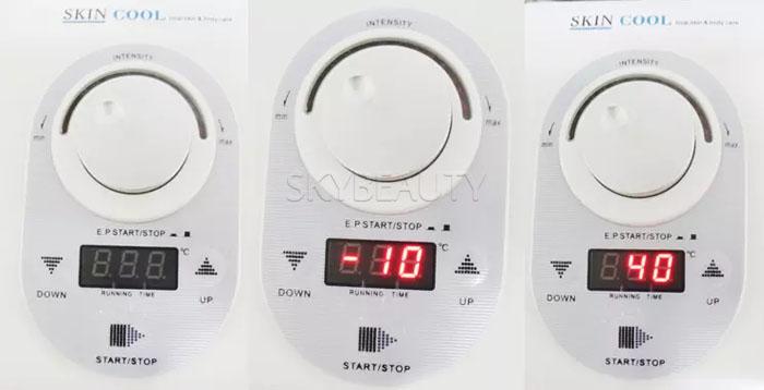 1 में 3 त्वचा शांत और गर्म चेहरे विरोधी उम्र बढ़ने Electroporation के ठंडा हीटिंग मशीन