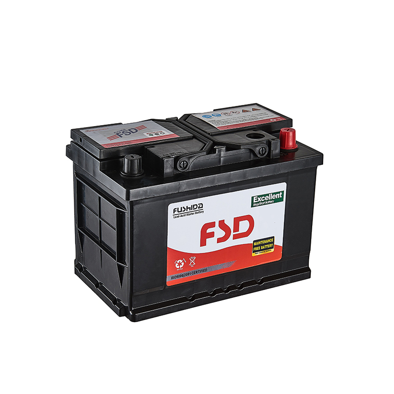 Maintenance Free Heavy Duty Truck Batteries Auto Battery