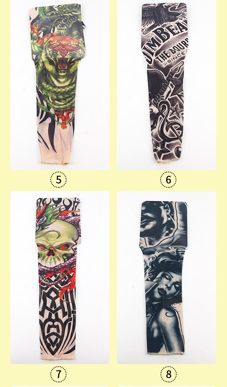 Oostenrijkse Kristal Kunstmatige Tattoo Mouwen Art