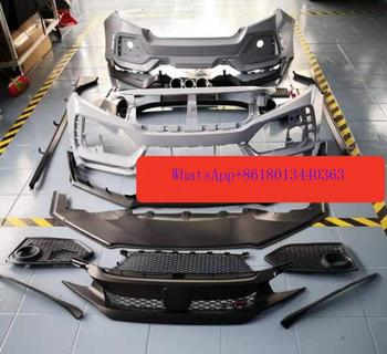 CAR BODY kits BUMPER rear bumper side kits for HONDA CIVIC TYPE R 2016 2017 2018 2019 2020