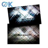 customized pvc business cards design, pvc plastic hologram business cards