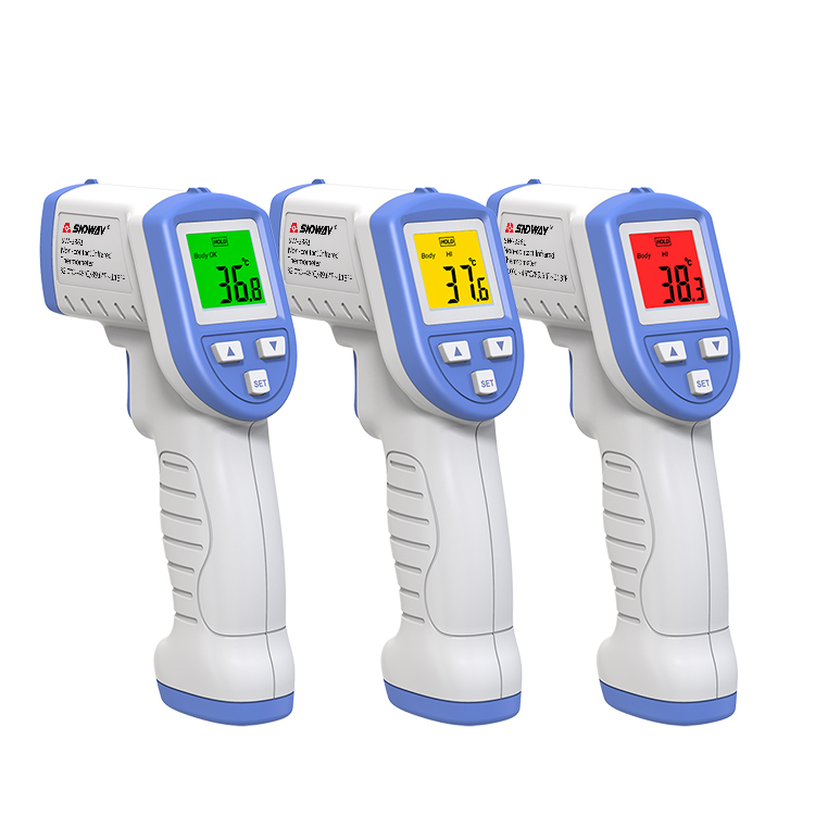 NEW IR Thermometer Digital 3 colors Infrared Thermometer non contact Thermometer for human <strong>temperature</strong>