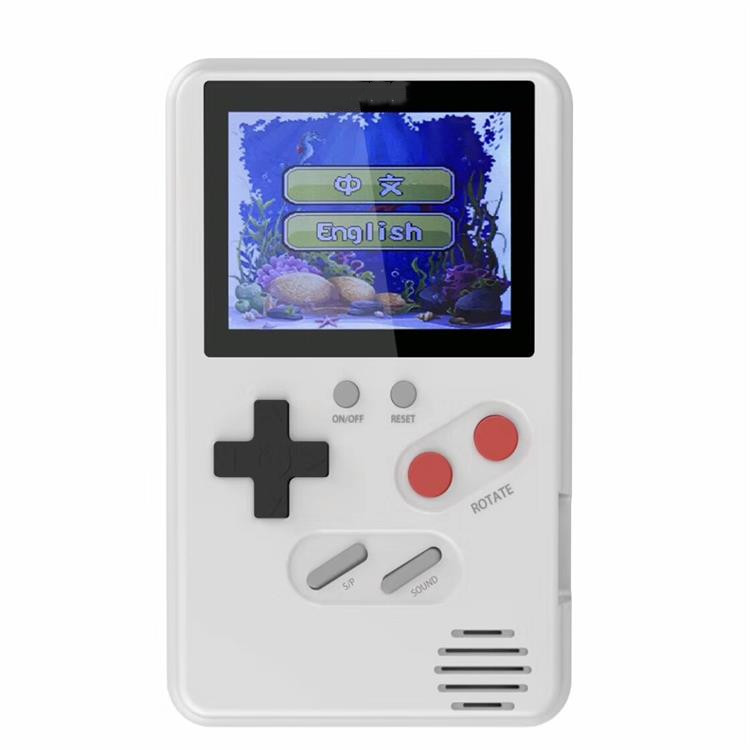 คอนโซลวิดีโอเกม 8 บิต Retro MINI Pocket เครื่องเล่นเกมพกพา 500 เกมคลาสสิกที่ดีที่สุดของขวัญเด็ก