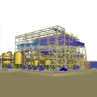 China Manufacturer CIL Plant Gold Leaching Tank Mineral Processing Project EPC Service Plants for Mining