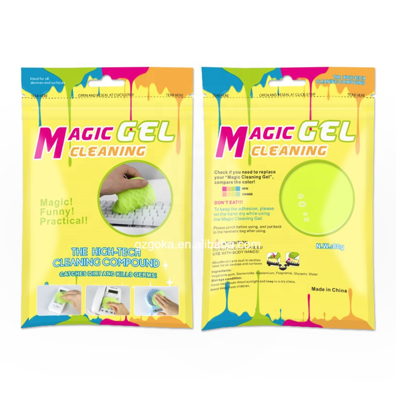 New package arrival super clean gel computer keyboard cleaner with 80g packed