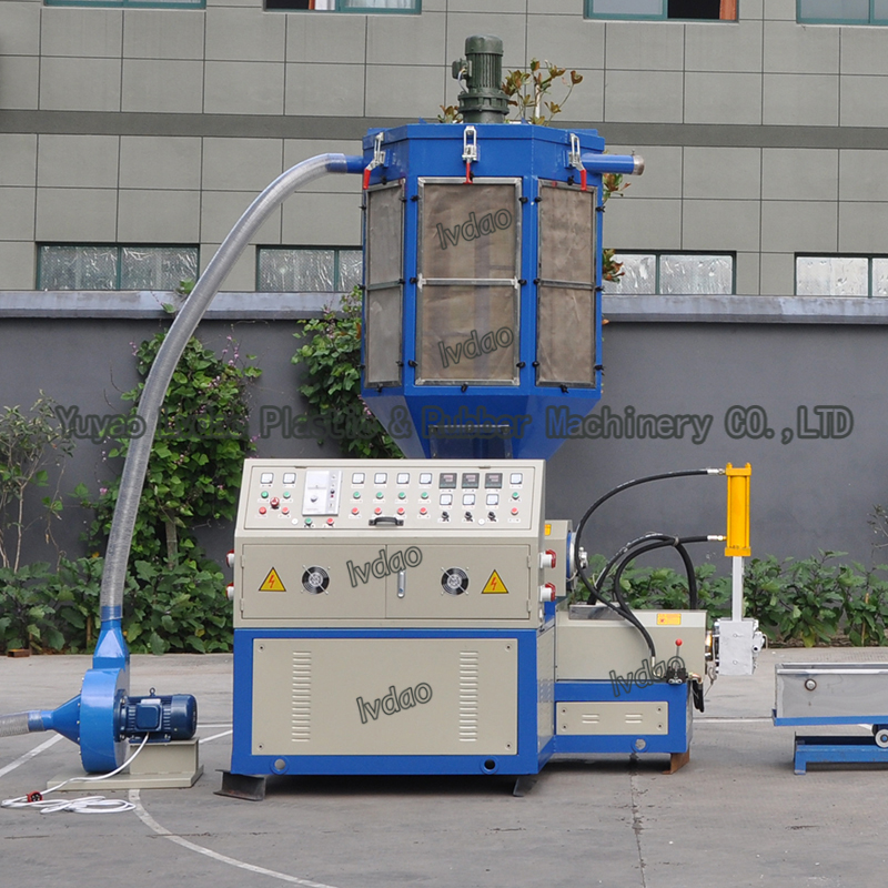 China Manufacture New Type EPS XPS EPP Foam Waste Recycling Granulator