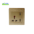 High Quality Multi functional 5v Double USB Wall Socket Socket /USB socket faceplate