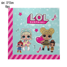 Оригинальные куклы LOL SURPRISE, темы для дня рождения, Аниме фигурки, оригинальные куклы LOL, украшения, принадлежности для девочек, подарки на ден...(Китай)