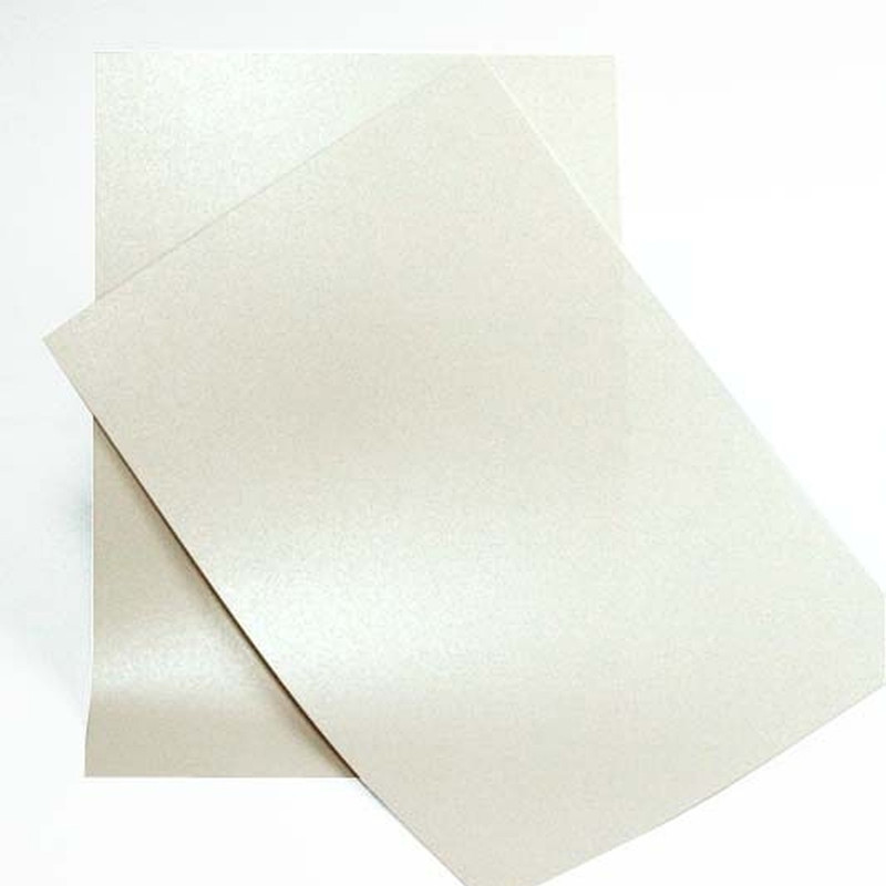 Lage prijs parelmoer papier a4 size pearlized papier factory supply