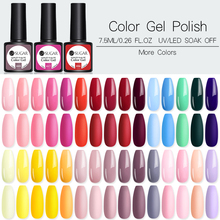 Ur Suiker 122 Kleuren 7.5 Ml Effen Kleur Shimmer Nail Art Uv <span class=keywords><strong>Gel</strong></span> Soak Off Nail <span class=keywords><strong>Gel</strong></span> <span class=keywords><strong>Polish</strong></span>
