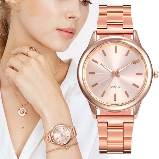 Wristwatch Factory Relojes Original Brand Men Luxury Stainless Steel Quartz Wristwatches Women