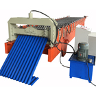 Corrugated Roofing Sheet Roof Steel Roll former Forming Machine with Product Run Out Table Auto Stack