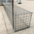 Galvanized  Galfan coated gabion box basket wire mesh for gabion planter