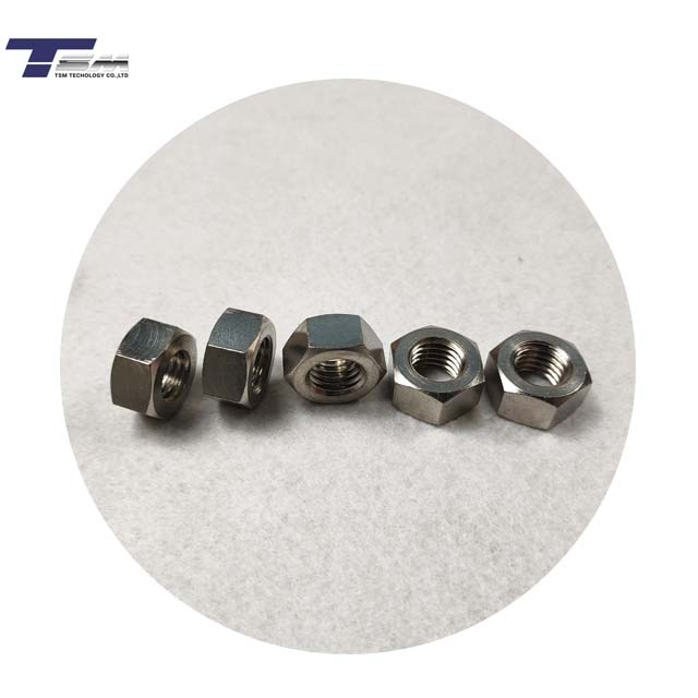 Large Stock <strong>Grade</strong> <strong>2</strong> M6 <strong>Titanium</strong> Hexagon Nuts DIN934