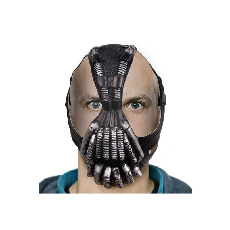 Molezu Factory Sale The Dark Knight Rises Movie Bane Head <strong>Masks</strong> <strong>Halloween</strong> Batman Costume Cosplay Comics Face Party <strong>Mask</strong>
