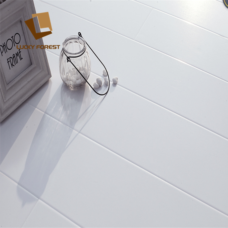 Classen 31 hdf high gloss laminate white flooring