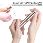 New Products Lady Eye Brow Shaver Hair Remover Painless Electric USB Rechargeable Eyebrow Razor Trimmer with LED Light