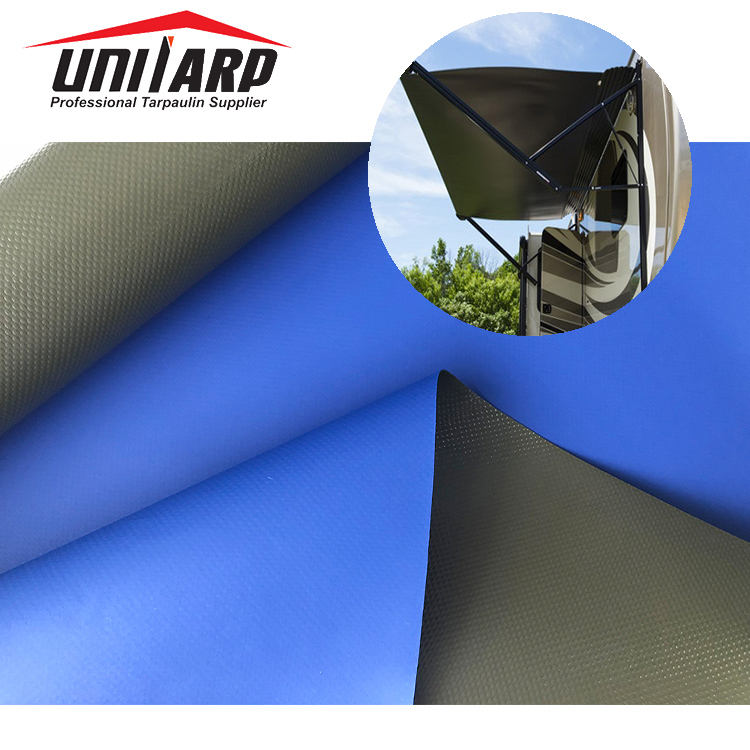 Outdoor 520gsm Vinyl Fabric Wholesale Side Tents On Vans ...