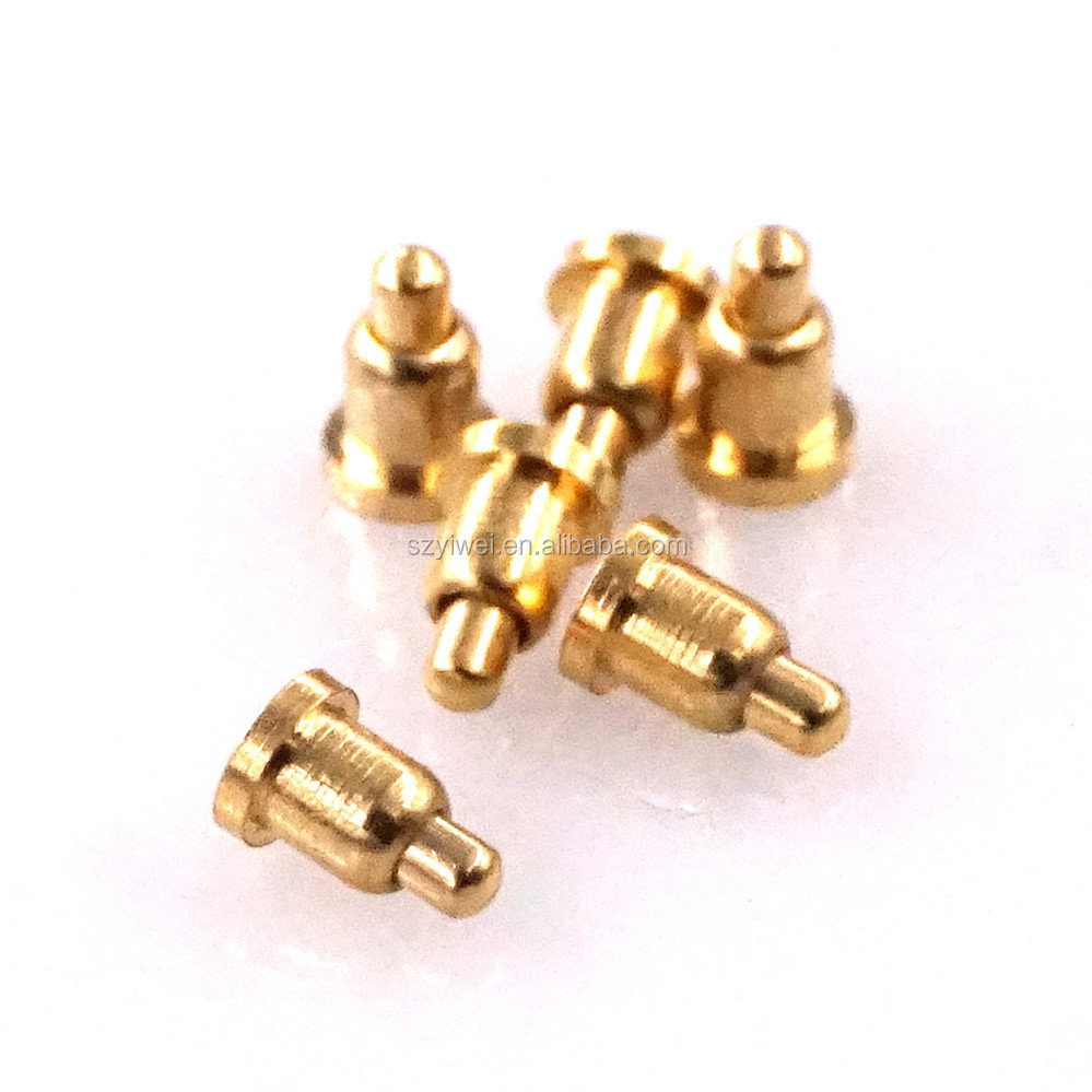 1.27 mm 1.27 mm 90/° Convex 16.55 mm Pack of 10 Connector 3 A P13-2123 Spring Loaded Probe Contact P13-2123
