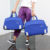 Sports fitness bag wheel duffle luggage polo trolley travel bag
