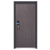 2019 latest Exterior Steel Security Iron Safety Door Design from Phipulo