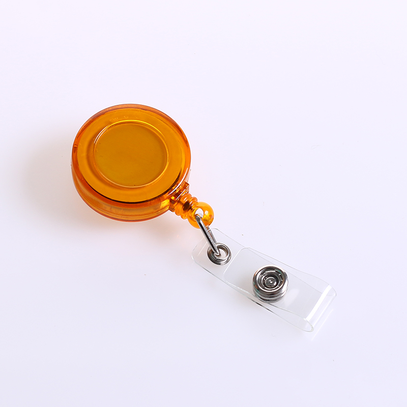 QORI nurse retractable business id badge reel