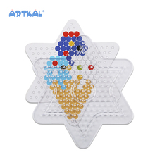 Artkal Educational Fashion Fun Hobby Perler Perlen 5mm <span class=keywords><strong>Peg</strong></span> Board