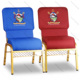 Wholesale Customized Logo Interlock Stacking used Church Chair