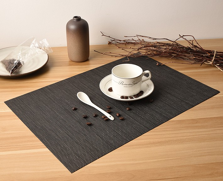 Factory Sale OEM Quality Placemats/Table Mat/PVC Coated Woven Net/Mesh Fast Delivery