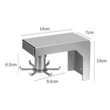 Новая настенная посуда крюк стеллаж вращающийся полка Телескопический подвесной органайзер для хранения для кухни ванной комнаты #4(Китай)