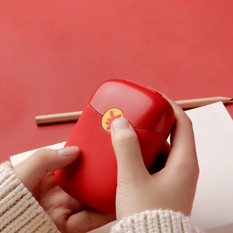 Bonito Mini Gel Reutilizável De Inverno Mão Aquecedor Aquecimento instantâneo Pack Aquecedor de mão