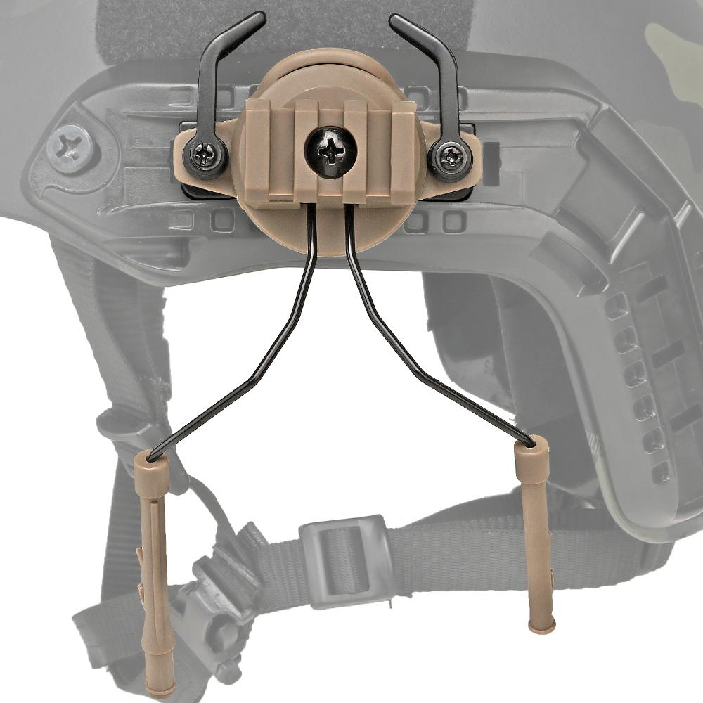 WoSporT New Upgrade Fast Helmet Bracket Tactical Helmet headset bracket for airsoft Paintball outdoor sport