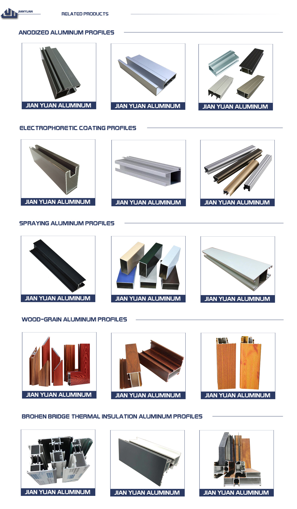 The best door window extrusion aluminum profile for sliding door