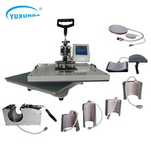 9 in 1 Digitale Warmte Persmachine Multifunctionele Transfer <span class=keywords><strong>Sublimatie</strong></span> voor T-Shirt Mok Cup Hoed Cap Hittedrukcilinder