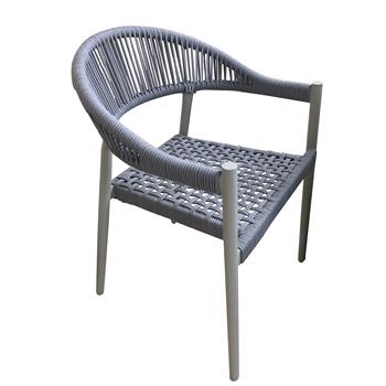 Wicker Rattan Dining Chair Bamboo Furniture Wrought Iron