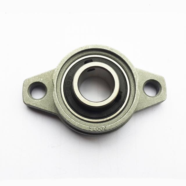 2PCS 17mm KP003 Bearing Insert Bearing Shaft Support Spherical Roller zinc Alloy Mounted Bearings Pillow Block housing